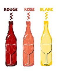 Logo bouteille de vin