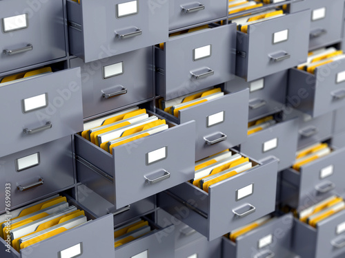 File cabinet - 76590933