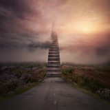 Road stairs