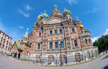 The Church of the Savior on Spilled Blood is one of the main sig