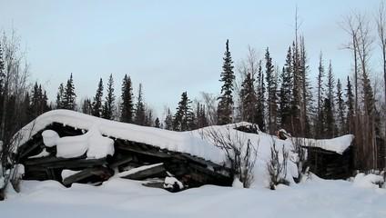 Snow Structure Alaska
