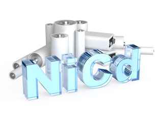 NiCd — nickel-cadmium accumulator battery