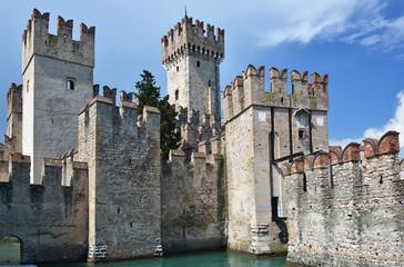Castello Scaligero di Sirmione (Sirmione Castle), built in XIV c