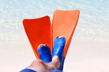 Orange Flippers