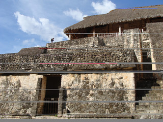 Acropolis. Mayan Ruins of Ek Balam.