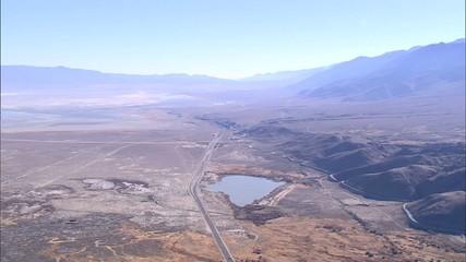 Desert River Mountain Aqueduct