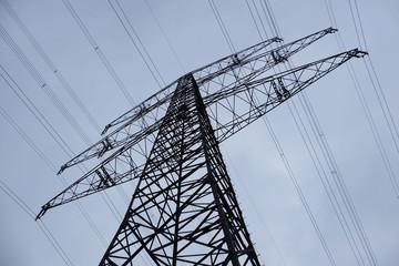 Energie - Hochspannungsleitung