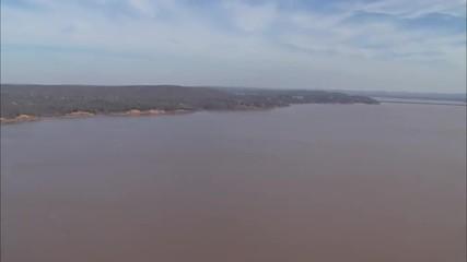Large River Countryside Oklahoma