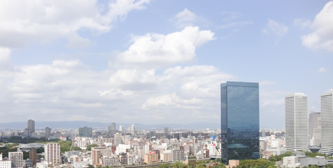 Cityscape in Japan