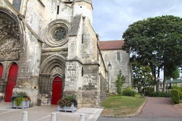 Saint Etienne church,Beauvais, Oise, Picardy, France
