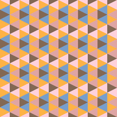 abstract retro geometric pattern illustration