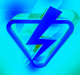 electric power symbol