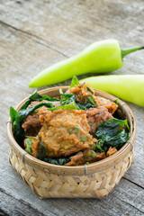 Beignet de poisson ou Thai fish cake