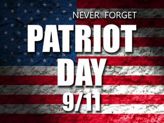 patriot day american flag