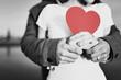 Leinwandbild Motiv Romantic Love