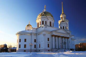 Orthodox-female monastery in Yekaterinburg the main building