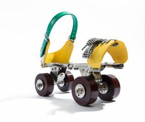 Single trendy roller skate