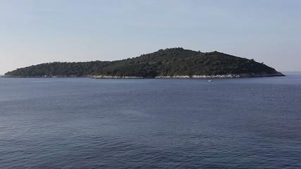 Island Lokrum near Dubrovnik.