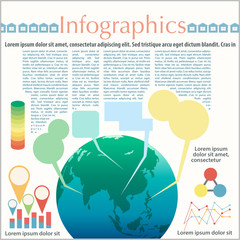 The Earth's infographics
