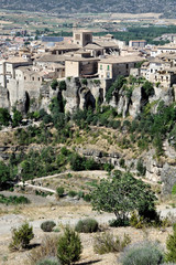 Aerial view of Cuenca, Spain