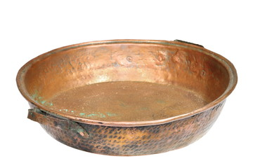 bronze isolated cauldron