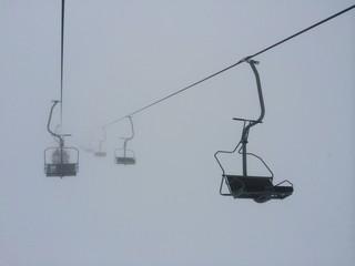 lift im nebel