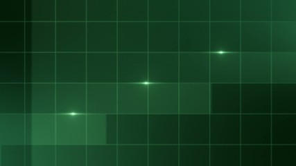 Simple Lines - Abstract Background - green