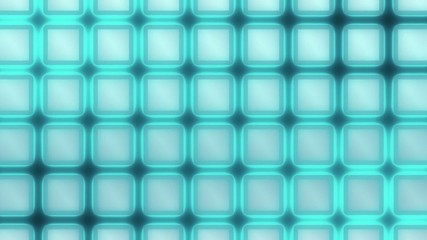 Moving Glow Grid - Abstract Background - blue