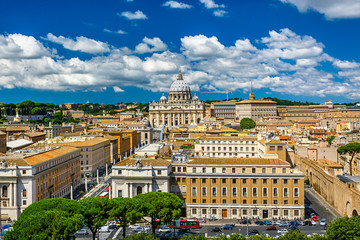 The Papal Basilica of Saint Peter in the Vatican City