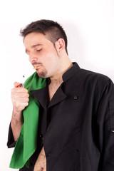 Smoking Chef