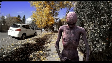 3d animation, funny zombie