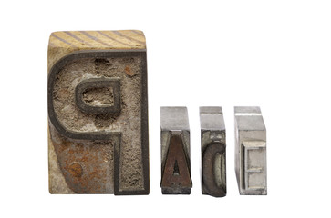 Caratteri tipografici antichi