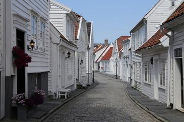 Norway, Stavanger. Old town.