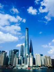 skycraper in shanghai