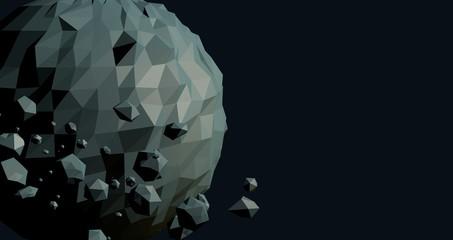 Polygonal planet