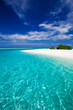 The most amazing beach on a tropical island - 76629320