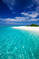 The most amazing beach on a tropical island