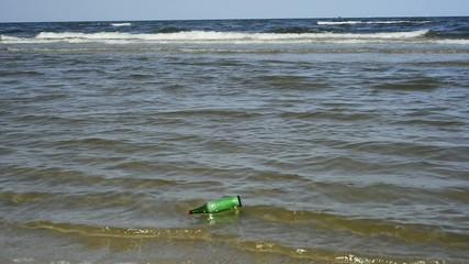 Flschenpost in der Ostsee