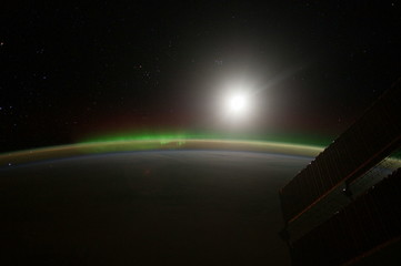 View of planet Earth from Space. Image provided by NASA
