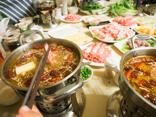 Hua gua - Chinese hot pot shabu shabu