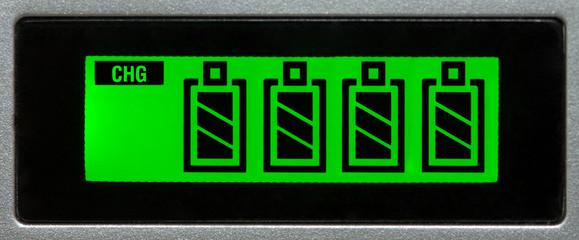 Battery display charging