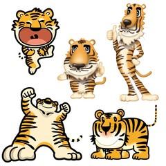 虎のキャラクター