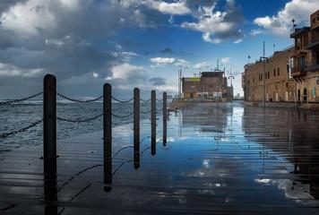 Storm in Jaffa