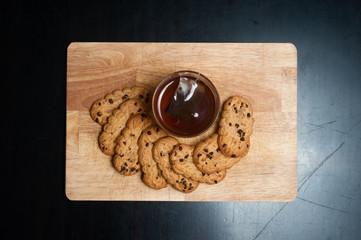 thè e biscotti