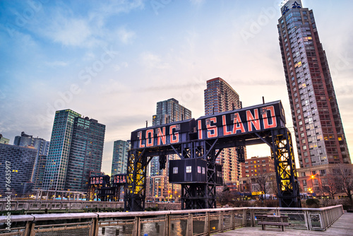 Long Island, New York City. USA. - 76635917