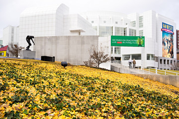 High Museum of art in midtown Atlanta, USA