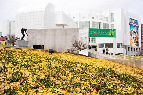High Museum of art in midtown Atlanta, USA - 76636371