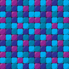 background from square colored tiles