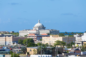 Coastal Buildings of San Juan Puerto Rico