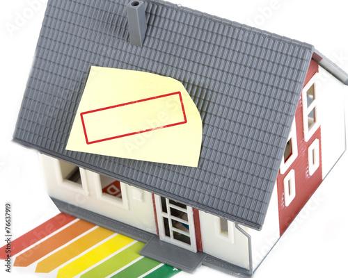 canvas print picture Haus